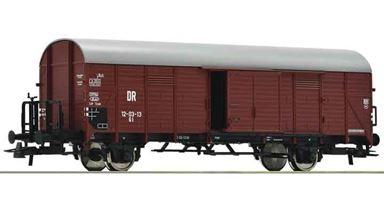 ROCO 76308 — Товарный вагон тип Gl с откатной дверью, H0, III—IV, DR