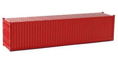 CMOD CON08740 red — 40 футовый морской контейнер (красный), 1:87