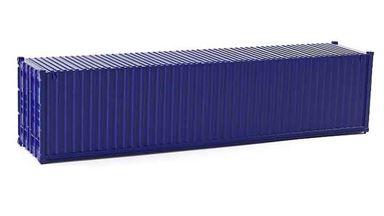 CMOD CON08740 blue — 40 футовый морской контейнер (темно-синий), 1:87
