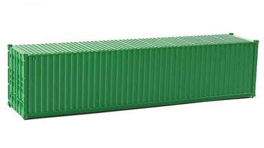 CMOD CON08740 green — 40 футовый морской контейнер (зеленый), 1:87