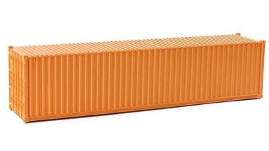 CMOD CON08740 orange — 40 футовый морской контейнер (оранжевый), 1:87