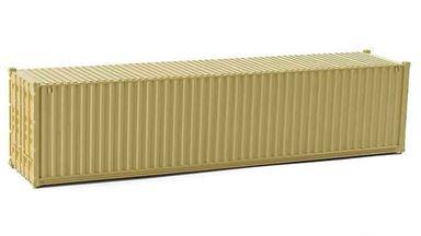 CMOD CON08740 yellow — 40 футовый морской контейнер (желтый), 1:87