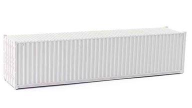 CMOD CON08740 white — 40 футовый морской контейнер (белый), 1:87