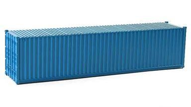 CMOD CON08740 light blue — 40 футовый морской контейнер (светло-голубой), 1:87