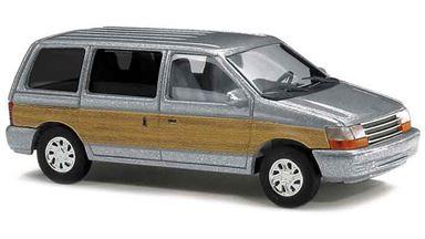 BUSCH 44623 — Автомобиль Plymouth® Voyager «Woody» (серебристый), 1:87