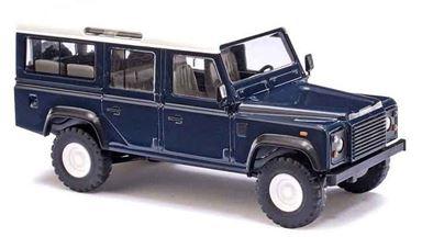 BUSCH 50302 — Внедорожник Land Rover® Defender™ синий, 1:87
