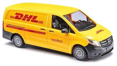 BUSCH 51141 — Минивэн Mercedes-Benz® Vito службы доставки «DHL», 1:87