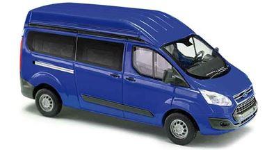 BUSCH 52501 — Автомобиль Ford® Transit Custom™ с высокой крышей (синий), 1:87