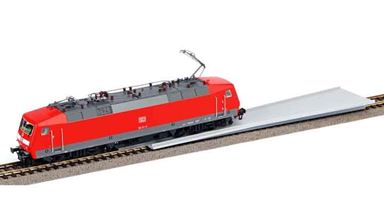 PIKO 55499 — Планка для постановки подвижного состава на рельсы с подложкой, H0
