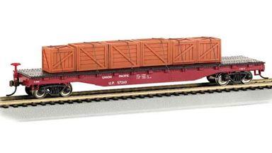 BACHMANN 18922 — Платформа 4-осная с грузом, H0, Union Pacific®