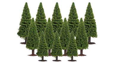 CMOD DHV100x15 — Ели (15 деревьев ~65—100мм), 1:72—1:220