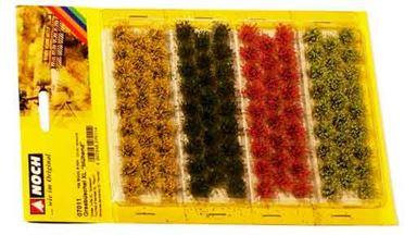 NOCH 07011 — Цветущие травы (104 пучка ~9мм), 1:10—1:250