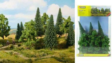 NOCH 24622 — Смешанный лес (6 деревьев ~140—180мм), 1:35—1:120