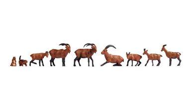 NOCH 15742 — Горные животные (набор фигурок), 1:87