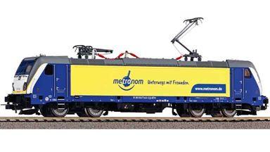 PIKO 51586 — Электровоз BR 147 «Metronom» (DSS PluX22), H0, VI, Metronom