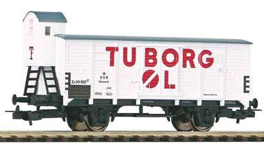 PIKO 54619 — Товарный вагон с тормозной будкой G02 «Tuborg», H0, III, DSB