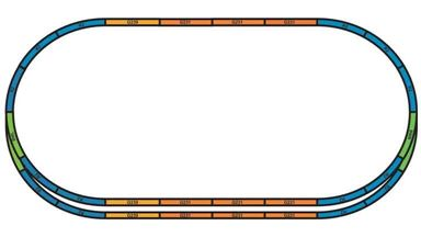 PIKO 55367 — Подложки для рельсовых путей (набор A+E), H0