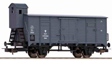 PIKO 58928 — Товарный вагон G02 с кабиной управления, H0, III, PKP