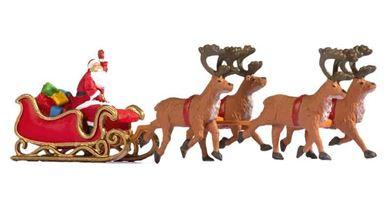NOCH 15924 — Дед Мороз с санями и оленями, 1:87