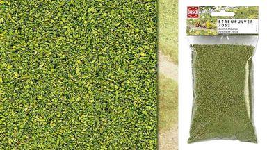 BUSCH 7052 — Присыпка зелёная весенняя (~40 г), 1:35—1:220