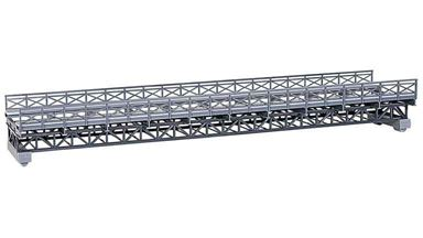 KIBRI 39707 — Железнодорожный стальной однопутный мост ~335мм, 1:87