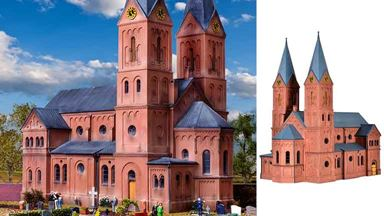 KIBRI 39760 — Романская городская церковь, 1:87