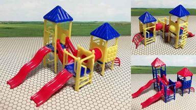CMOD DPL160x2 — Детские площадки (2 конструкции разных цветов), 1:150—1:200