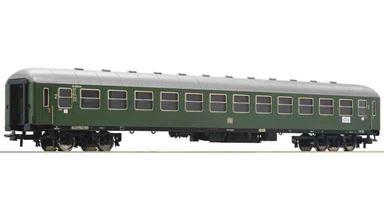 ROCO 54451 — Пассажирский вагон 2 кл. тип B4üm «Экспресс DB», H0, III, DB