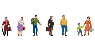 FALLER 151615 — Пассажиры с багажом на платформе, 1:87