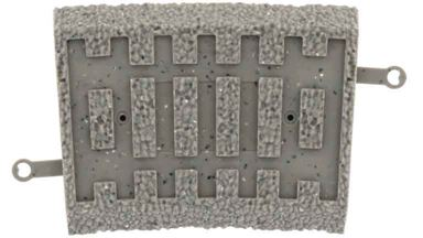 PIKO 55468 — Балластная призма для рельсов PIKO R2 7,5°, H0