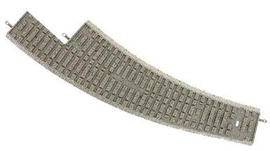 PIKO 55473 — Балластная призма для радиусных рельсов правых стрелок PIKO BWR, H0
