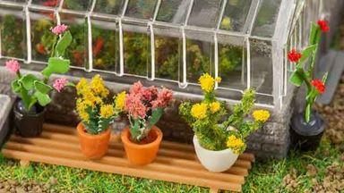 FALLER 181270 — Цветы в горшках ~12—20 мм (6 растений), 1:72—1:100
