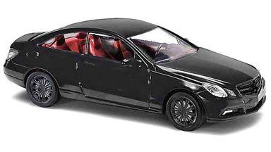 BUSCH 41659 — Автомобиль Mercedes-Benz® E—класс купе «Black Edition», 1:87