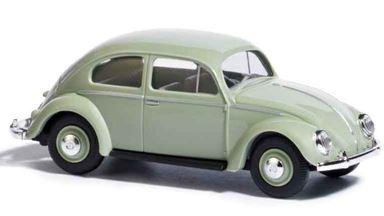 BUSCH 52952 — Автомобиль Volkswagen® Käfer «жук» светло-зеленый, 1:87, 1953