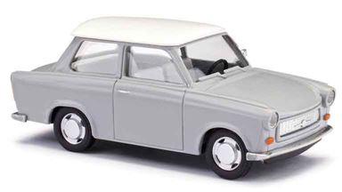 BUSCH 53109 — Седан Trabant® P601 «de Luxe» серый, 1:87, 1963—1990