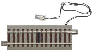 ROCO 61117 — Прямой рельс 100мм с электрическим контактом, H0, geoLINE